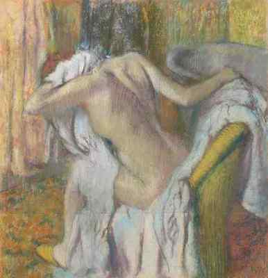 Hilaire Germain Edgar Degas After The Bath, Woman Drying Herself A4