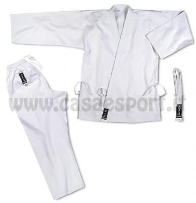 Karate-gi scuola kimono bianco cintura CORSPORT arti marziali karate judo sport