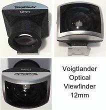 Voigtlander 12mm high-grade optical viewfinder *As new* Sydney City Inner Sydney Preview
