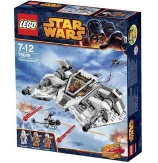 Lego 75049 Star Wars Snow Speeder (Brand New) Luke Skywalker Indooroopilly Brisbane South West Preview