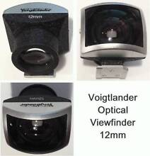 Voigtlander 12mm high-grade optical viewfinder *As new* Sydney City Inner Sydney Preview