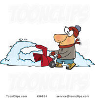 Snow blowing removal Belleville areas