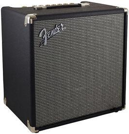 Fender Rumble 40 TM , Bass Guitar Combo Amplifier. / As New !