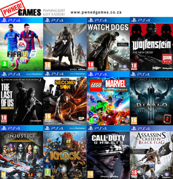 PS4 Games [D] º°o Buy o°º Sell º°o Trade o°º