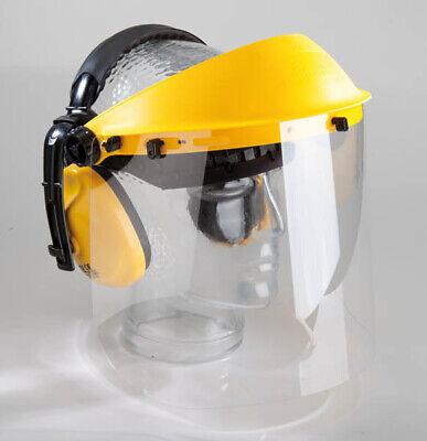 Westfalia Gehör- und Gesichtsschutz mit Klarsicht-Visier