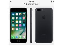 WANTED! iPhone 7 plus UNLOCKED! Part ex for iPhone 6s Plus 128gb UNLOCKED.