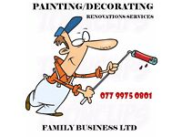 PAINTING/DECORATING & RENOVATION - FAMILY BUSINESS