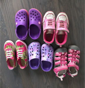 Lot of 5 pairs - Girls Shoes Size 11