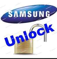 Unlock samsung Any carrier for 9.99