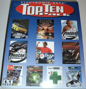 Top Ten Pack (2000) PC CD-ROM by Electronic Arts (10 PC Games)