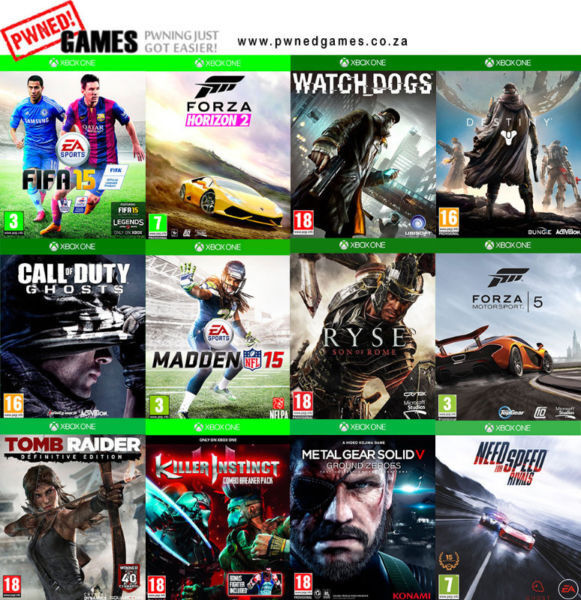 Xbox One Games [O-Z] º°o Buy o°º Sell º°o Trade o°º