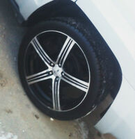 "20"" MSR 052B RIMS AND TIRES (MINT CONDITION) JEEP DODGE CHRYSLER"