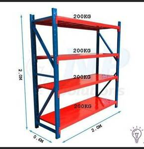 Garage Shelving Racking Shed Storage Warehouse 800kg 2mx2mx600 Buderim Maroochydore Area Preview