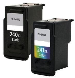 Canon PG-240XL-CL-241XL - 1 Black - 1 Color Inkjet Compatible In