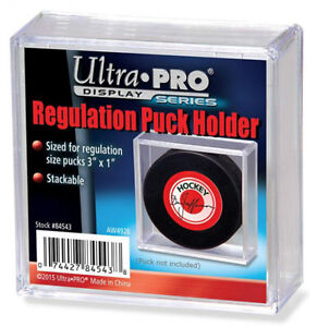REGULATION PUCK holders .. Ultra Pro - for REGULATION size pucks