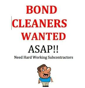 Bond Cleaners required Brisbane South, make $$$ now!