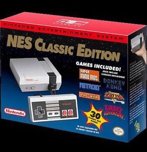 Nintendo NES classic Edition console and games brand new