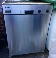 *used* Silver Miele Dishwasher!