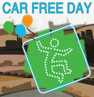 Help Celebrate CAR FREE DAY on the Drive!