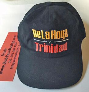 Oscar de la Hoya vs. Felix Trinidad Vintage Baseball Boxing Fight Cap Brand New