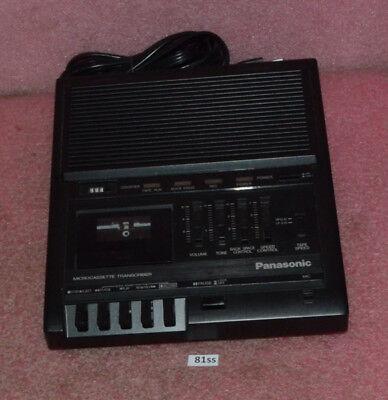 Panasonic Microcassette Transcriber Model Rr-930.