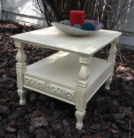 Vintage Shabby Chic end table