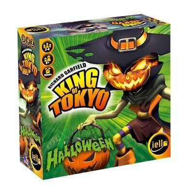 IELLO King of Tokyo Halloween Strategy Board Game - Halloween Board Games