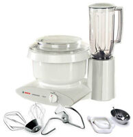 BOSCH KITCHEN MACHINES, GRAIN MILLS, RPM BLENDERS