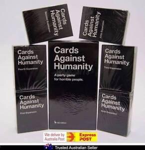 Cards Against Humanity 1.7 AU 1.7 Base Set + 123456 Expansion Set Dandenong Greater Dandenong Preview