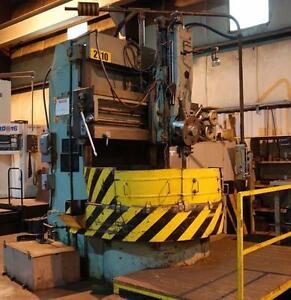 "STANKO 55"" VERTICAL BORING MILL (USED)"