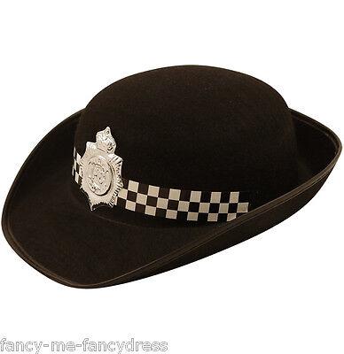 Damen Polizei Polizistin Wpc Hut Hen Kostüm Kleid Outfit Zubehör ()
