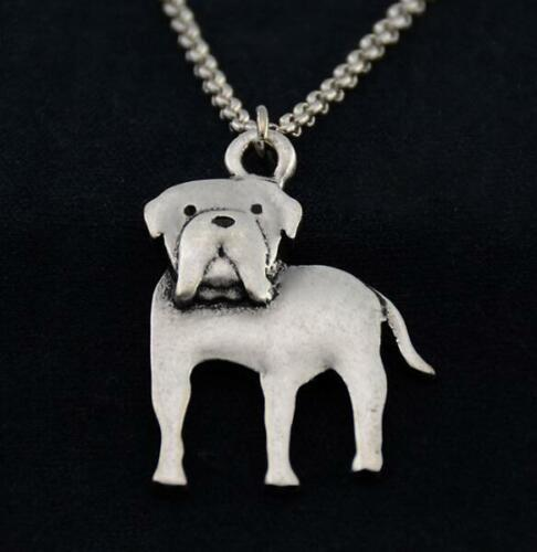 Cartoon Mastiff Pendant Necklace ANIMAL RESCUE DONATION