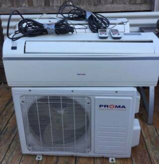 Excelent Proma air conditioner Indoor+outdoor unit(Model PRO-25T)