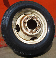 4 +1 DODGE RV Motorhome dually 8.75 R16.5 LT tires on rims