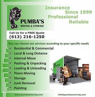 Affordable Price, Professional Moving Services / Free Estimates