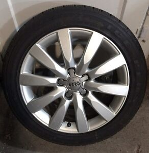 Audi winter wheel and tire package Regina Regina Area image 1