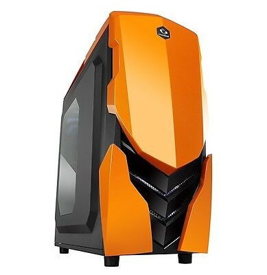 AMD Quad Core Custom Built Gaming PC Computer Desktop 4.0GHz 16GB 2TB ninja