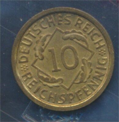 Deutsches Reich Jägernr: 317 1936 J vorzüglich 1936 10 Reichspfennig (7879743