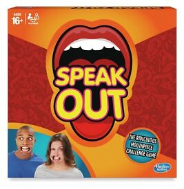 SEALED BRAND NEW SPEAK OUT GAME