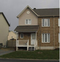 Plateau Semi-detached house for rent from July 1st