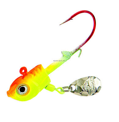 """Dream Catcher 1 1//2/"""" 1//3oz Casting//Jigging Blade Color#6 for Open//Ice Fishing"""