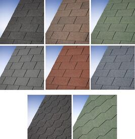 Roof shingles perfect for sheds or summerhouses