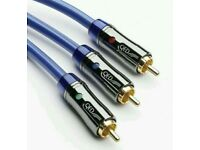 QED PERFORMANCE COMPONENT VIDEO CABLE