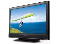 SONY 32in LCD HD TV Builtin Freeview etc etc.
