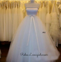 Taille 6 Robe blanche #92