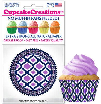 Purple Cupcake Liner Baking Cup Lavender CupcakeCreations Party Supplies](Purple Cupcake)