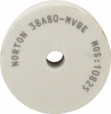 Norton 80 Grit Aluminum Oxide Type 1 Internal Grinding Wheel 3 Diam X 12 H...