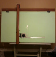 Commercial quality drafting board