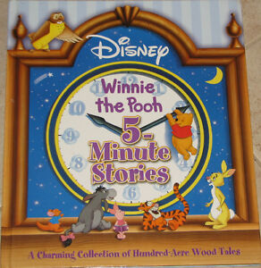 Winnie the Pooh 5 Minute Stories Hard Cover Book London Ontario image 1