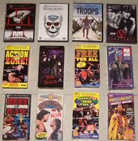12 WWE Wrestling Pre Viewed DVDS and VHS